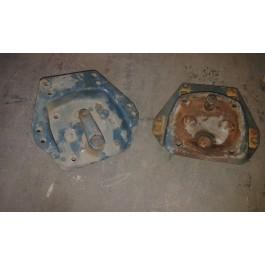 Piastra tamburo freno usata B7000